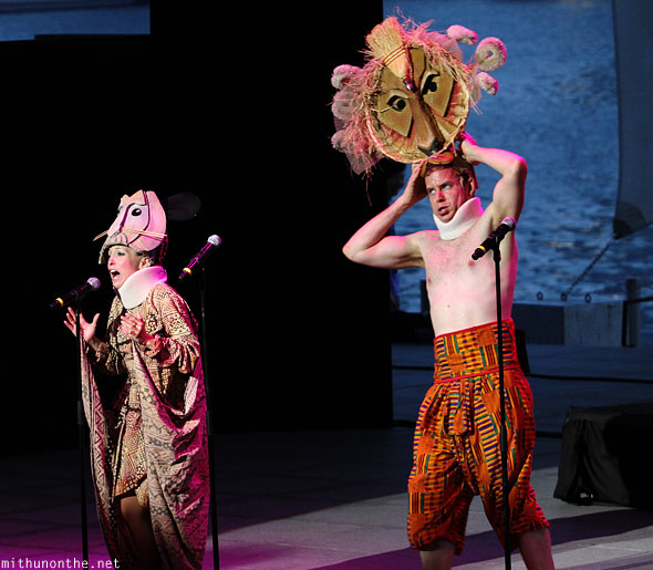Forbidden Broadway Singapore show Lion King spoof