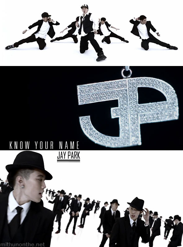Jay Park Know your name MV screencap New Breed