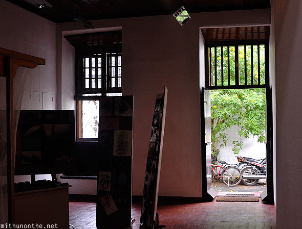 Kashi Art Cafe exhibition Fort Kochi Kerala
