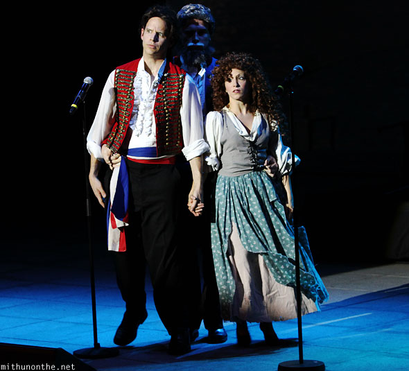 Les Miserables spoof Forbidden Broadway Singapore