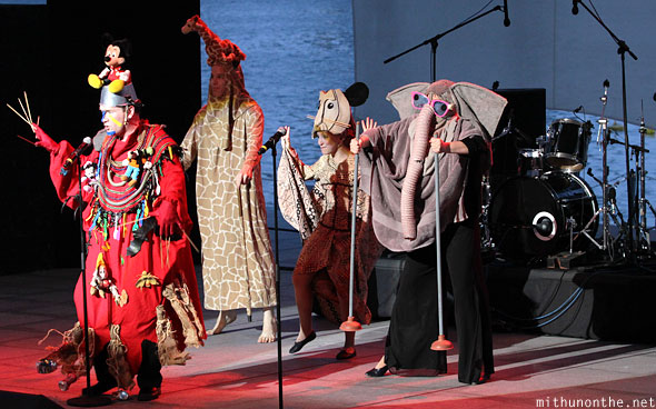 Lion King spoof Forbidden Broadway Singapore
