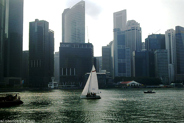 Marina Bay sailing Singapore