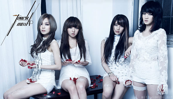 Miss A Touch Jia Min Suzy Fei members korean girl group