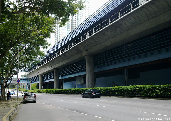 Queenstown MRT station Commonwealth avenue Singapore