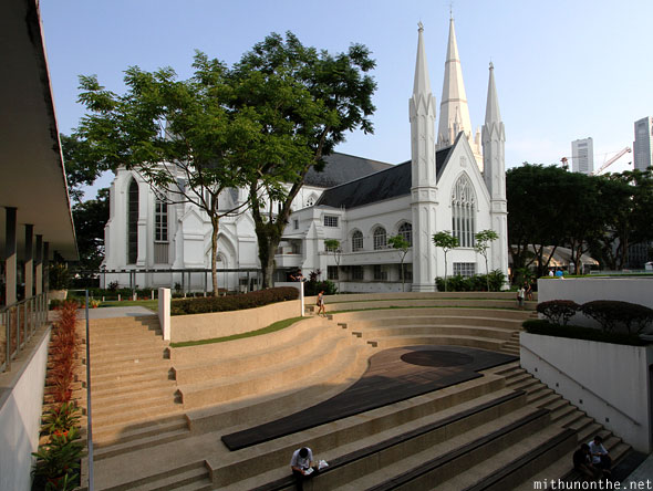 St. Andrews cathedral church Singapore