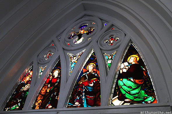 St. Andrews cathedral glass art Singapore