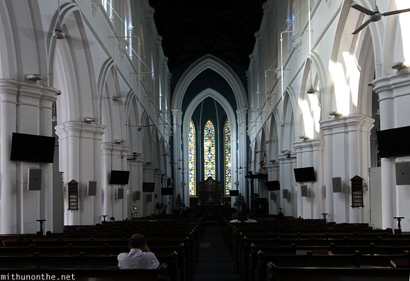 St Andrews cathedral prayer hall Singapore