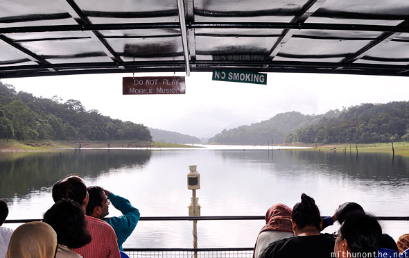 Thekkady boat ride Periyar lake Kerala India