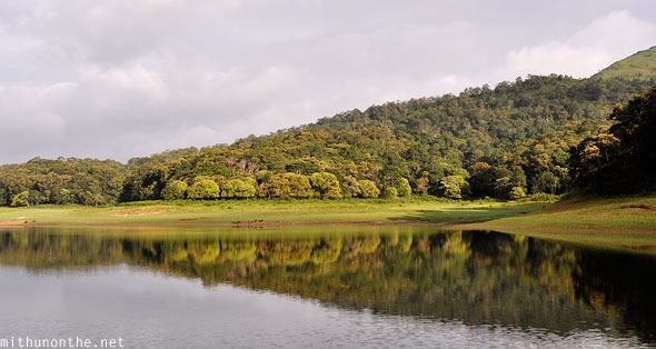 Thekkady lake Periyar Wildlife Sanctuary Kerala India
