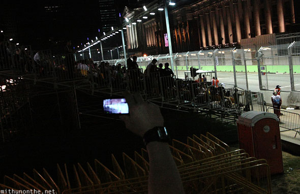 Zone 4 seating from staircase Singapore F1