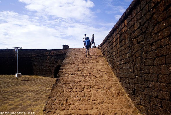 Aguada Fort inside Goa India