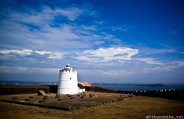 Aguada Fort lighthouse Goa India