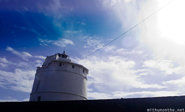 Aguada fort lighthouse Goa