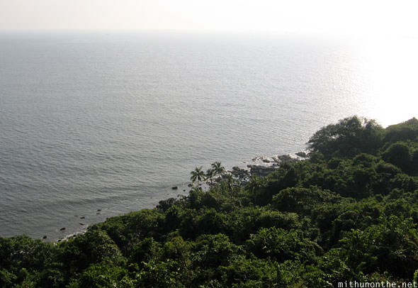 Arabian Sea from Fort Aguada Goa India