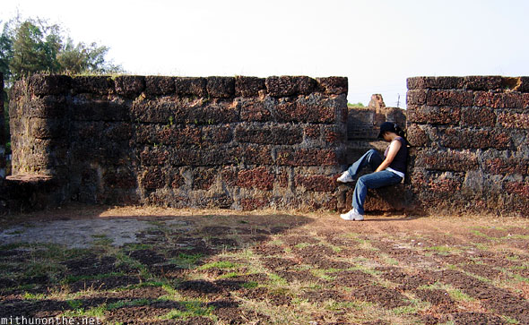 Ashwini Bhat Fort Aguada Goa India