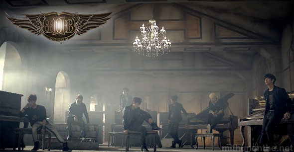 BtoB insane kpop MV screencap