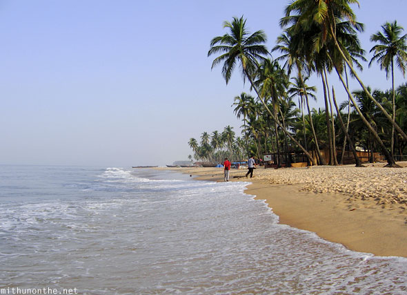 Colva beach South Goa India