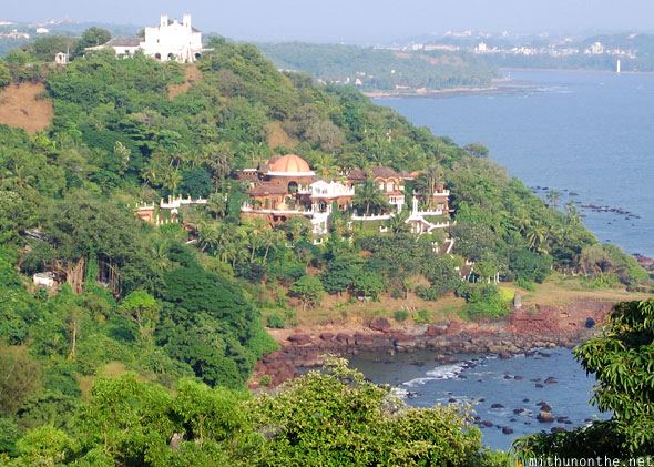 Fort Aguada view hotel Goa India