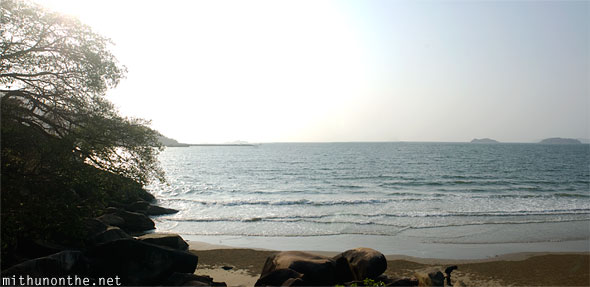 Karwar shore islands Karnataka
