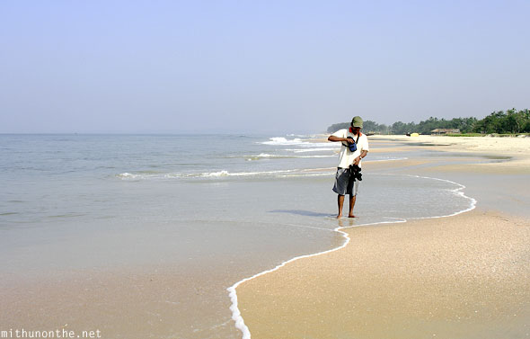Mithun Colva beach Goa India