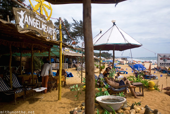 Monalisa's Angelheart Baga beach Goa India