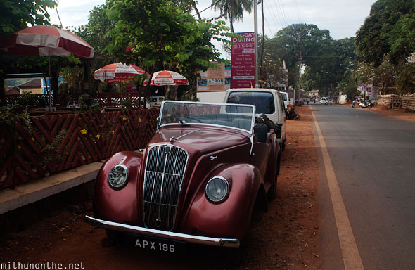 Old car Goa