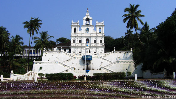 Panjim church Goa India