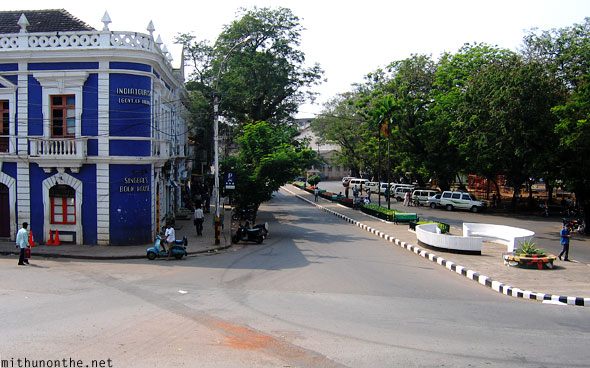 Panjim church road in front Goa