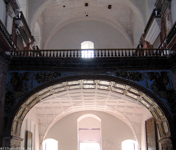 Se Cathedral arch top floor Goa
