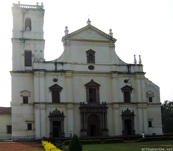 Se Cathedral Goa India