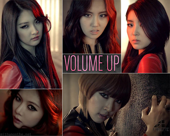 4minute Volume Up MV screencap k-pop