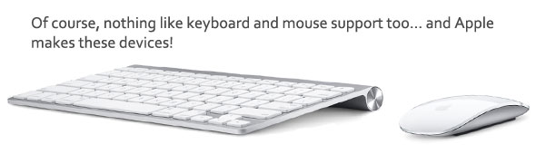 Apple keyboard mouse