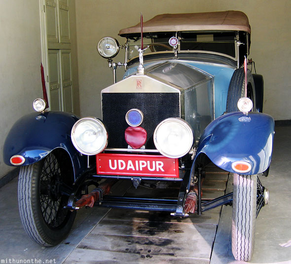 Blue Rolls Royce Udaipur royal collection