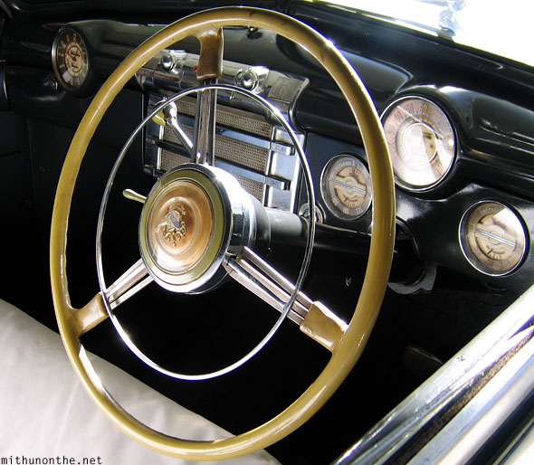 Buick Eight interior dashboard Udaipur India