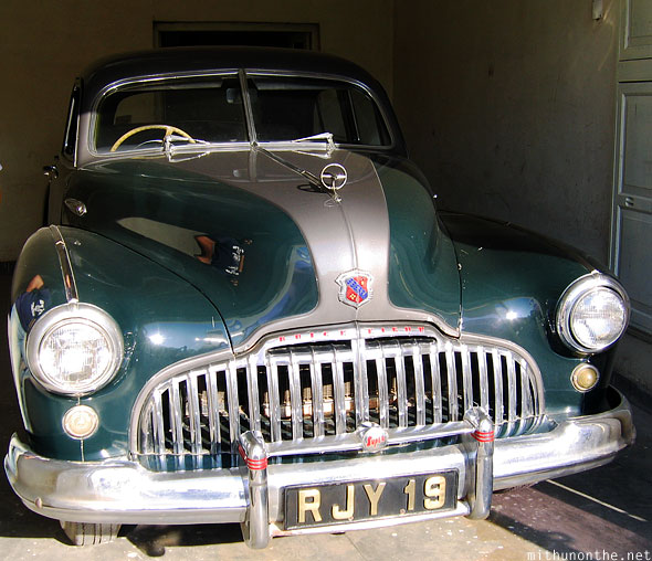 Buick Eight Udaipur vintage car collection Rajasthan