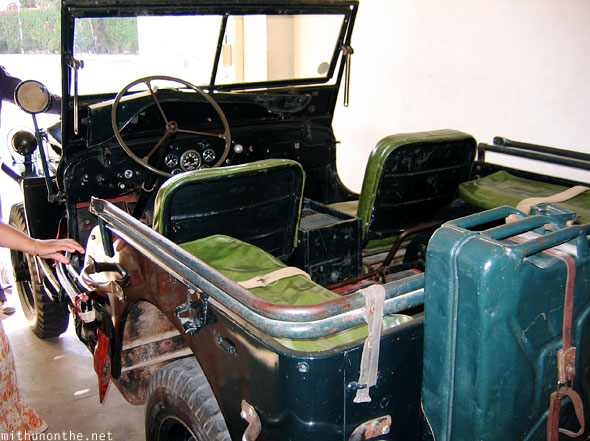 Classic jeep Udaipur royal collection India