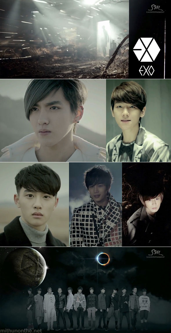 Exo What is love MV screencap kpop boyband