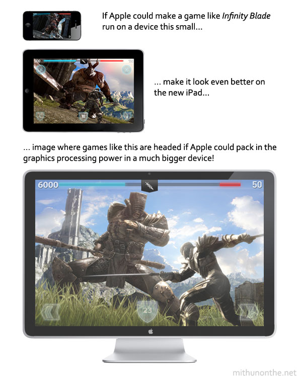 Infinity Blade Apple TV