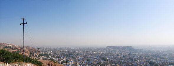 Jodhpur panorama view
