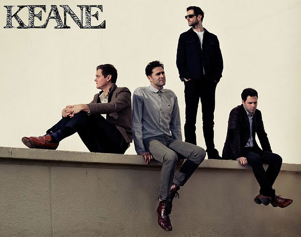 Keane members Strangeland promo photo