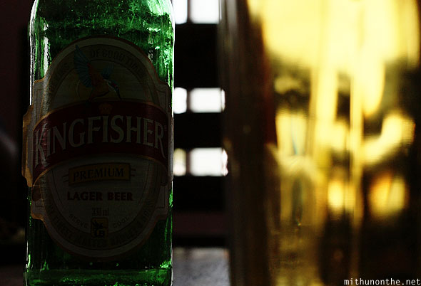 Kingfisher bottle beer Coorg