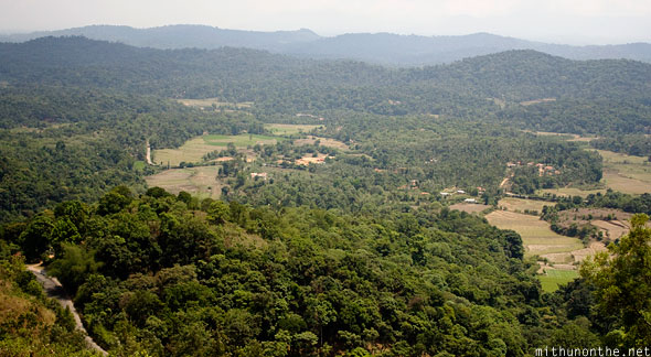 Madikeri viewpoint Coorg India