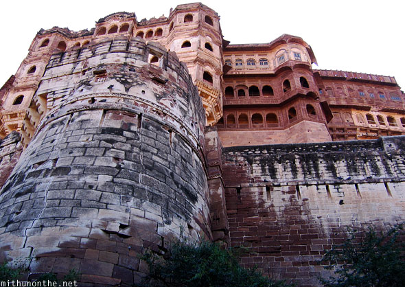 Mehrangarh Fort from below Jodhpur
