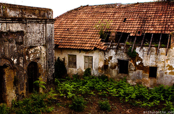 Old building Madikeri fort Coorg