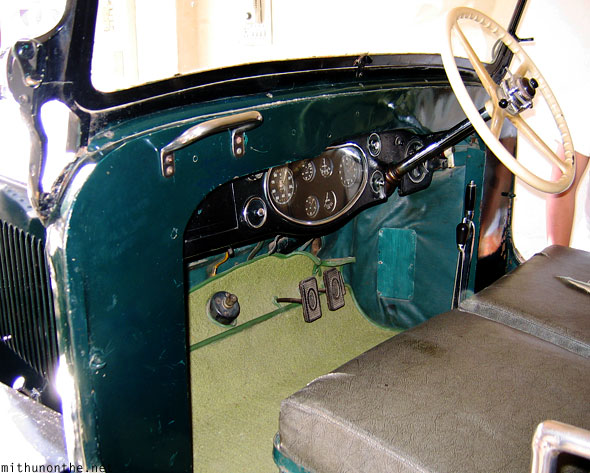 Old Rolls Royce dashboard Udaipur collection Rajasthan
