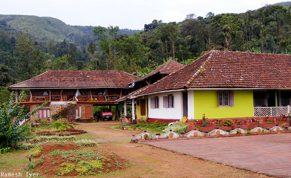 Palace Estate homestay Coorg India
