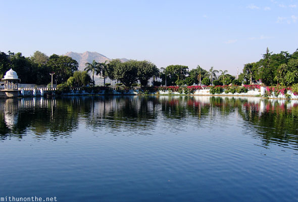 Udaipur city lake Rajasthan
