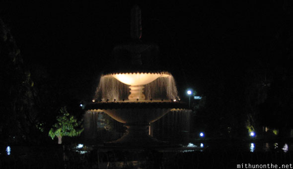 Udaipur fountain at night Rajasthan