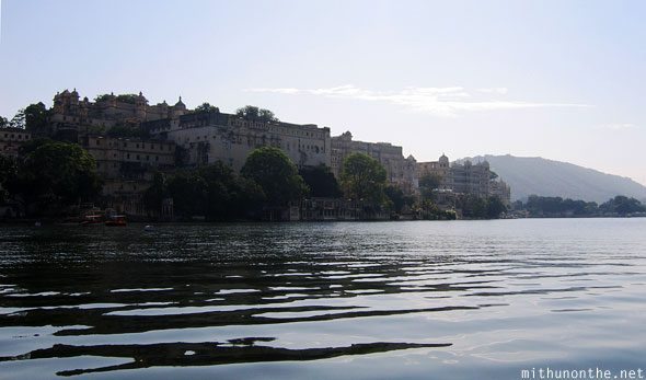 Udaipur palace hotel complex Lake Pichola Rajasthan