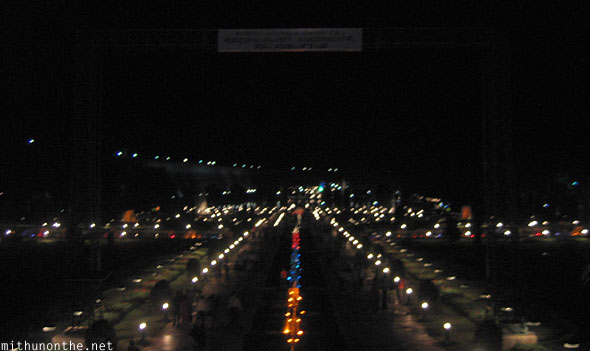 Brindavan gardens at night Mysore